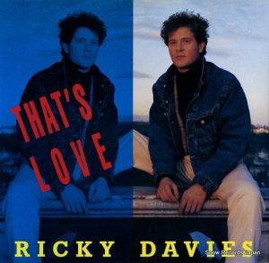 リッキー・デイヴィス - that's love - ARD1077
