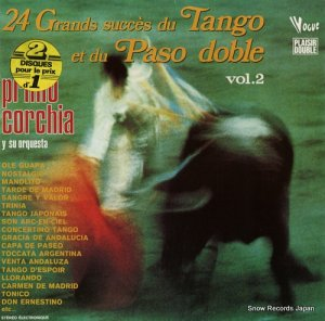 プリモ・コルチア - 24 grands succes du tango et du paso doble vol.2 - 400050/DP.50