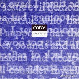 コーディ - dark blue - KIIKYDISC006