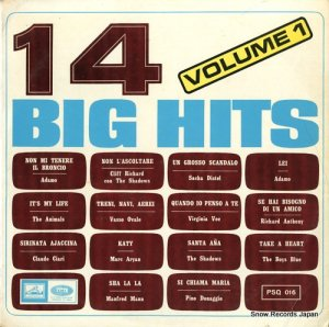 V/A - 14 big hits / volume1 - PSQ016