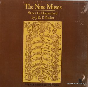 ニール・ロバーツ - the nine muses - suites for harpsichord - KS-506