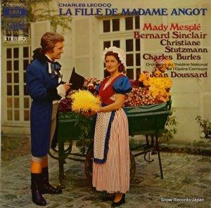 ジャン・ドサード - lecocq; la fille de madame angot - 2C161-12500/1