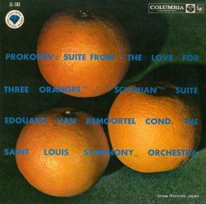 エドゥアルト・ヴァン・ルモーテル - プロコフィエフ:組曲「三つのオレンジへの恋」「スキタイ人」 - ZL-183