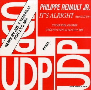 PHILIPPE RENAULT JR. - it's alright(move it up) - UDP1005