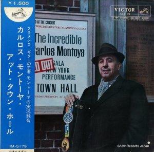 カルロス・モントーヤ - カルロス・モントーヤ・アット・タウン・ホール - RA-5179