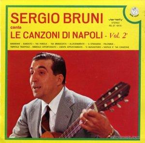 セルジオ・ブルーニ - canta le canzoni di napoli 2 - REL-ST19170