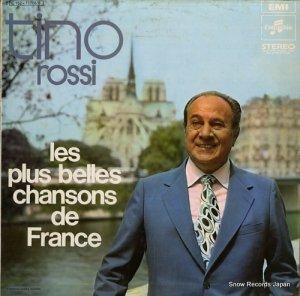 ティノ・ロッシ - les plus belles chansons de france - 2C162-11708/9