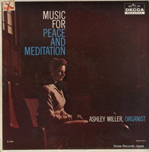 ASHLEY MILLER - music for peace and meditation - DL8924