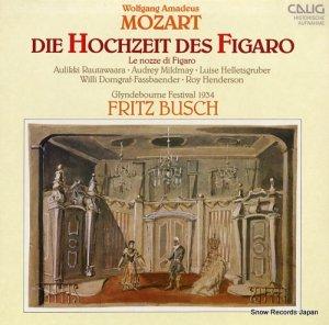 フリッツ・ブッシュ - mozart; die hochzeit des figaro (glyndebourne festival 1934) - CAL30851/52