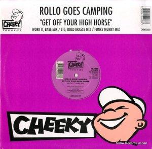 ロロ・ゴーズ・キャンピング - get off your high horse - CHEK12003