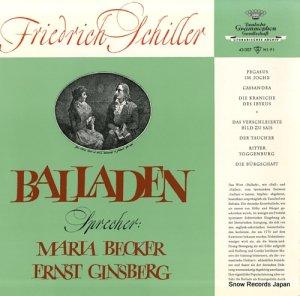V/A - friedrich schiller; balladen - 43007LPMS