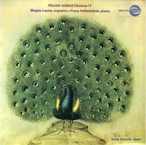 マグダ・ラースロー - イタリア歌曲集第1集 - MH5176