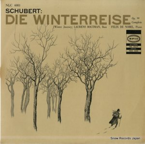 ローレンス・ボグトマン - シューベルト:歌曲集「冬の旅」作品89(全曲) - NLC6001