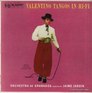 オーケストラ・デ・グラナドス - valentino tangos in hi-fi - KL-1064