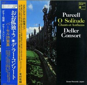 デラー・コンソート - おお孤独よ!〜ヘンリー・パーセル詩篇集 - VIC-2310