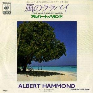 アルバート・ハモンド - 風のララバイ - 07SP532