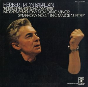 ヘルベルト・フォン・カラヤン - モーツァルト:交響曲40番&41番「ジュピター」 - EAA-101