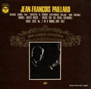 ジャン=フランソワ・パイヤール - ヘンデル:水上の音楽(抜粋版) - WX-14-R