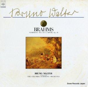 ブルーノ・ワルター - ブラームス:交響曲第4番ホ短調作品98 - 15AC1285