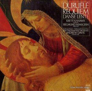 アンドリュー・デイヴィス - デュリュフレ:レクイエム/ゆるやかな舞曲 - 25AC389