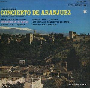 エルネスト・ビテッティ - ロドリーゴ:アランフェス協奏曲 - OS-2051-H