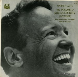 THE POET - popems james dickey (1957-1967) - SA984