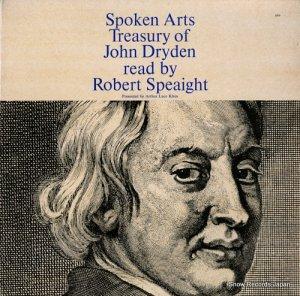 ロバート・スペイト - treasury of john dryden - SA866