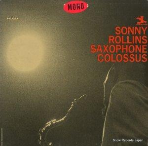 ソニー・ロリンズ - saxophone colossus - PR7326