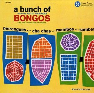 ウィリー・ロドリゲス - a bunch of bongos - GA33-421