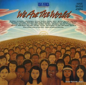 USAフォー・アフリカ - we are the world - CBSA12-6112