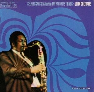 ジョン・コルトレーン - selflessness featuring my favorite things - AS-9161