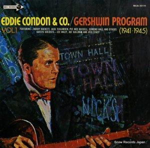 エディ・コンドン - ガーシュイン・プログラムvol.1(1945・1945) - MCA-3019