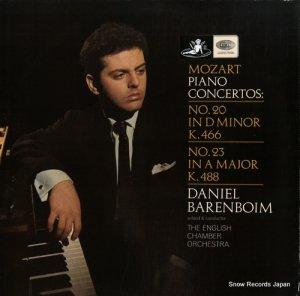 ダニエル・バレンボイム - mozart; piano concertos - ASD2318