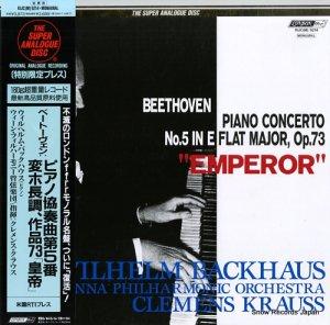 ウィルヘルム・バックハウス - ベートーヴェン:ピアノ協奏曲第5番変ホ長調作品73「皇帝」 - KIJC(M)9214