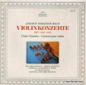 エドゥアルト・メルクス - bach; violinkonzerte bwv1041-1043 - 2533075