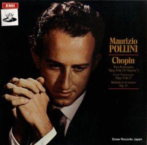 マウリツィオ・ポリーニ - chopin; two polonaises opp.44 & 53 - ASD2577