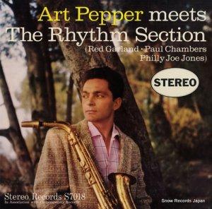 アート・ペッパー - meets the rhythm section - S7018