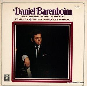 ダニエル・バレンボイム - ベートーヴェン:ピアノ・ソナタ「テンペスト」「ワルトシュタイン」「告別」 - AA-8538
