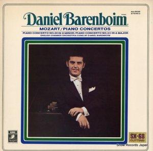 ダニエル・バレンボイム - モーツァルト:ピアノ協奏曲第20番/第23番 - AA-8509