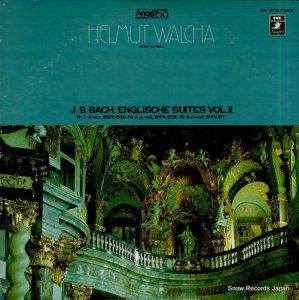 ヘルムート・ヴァルハ - バッハ:イギリス組曲第2集 - EAC-70163