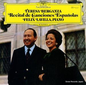 テレサ・ベルガンサ - ベルガンザ、スペインを歌う - MG2510