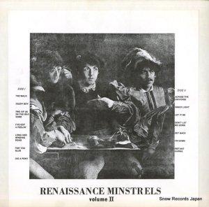 ザ・ビートルズ - renaissance minstrels volume ii - #726