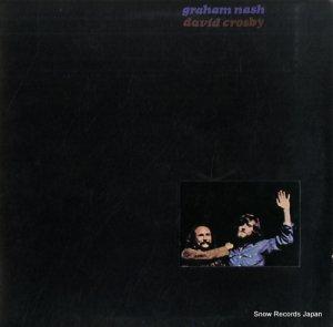 グラハム・ナッシュ&デイヴィッド・クロスビー - graham nash/david crosby - P-8174A