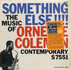 オーネット・コールマン - something else!!! the music of ornette coleman - OJC-163