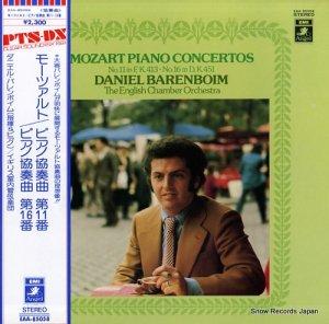 ダニエル・バレンボイム - モーツァルト:ピアノ協奏曲第11番&第16番 - EAA-85058