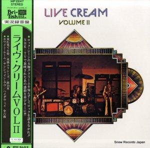 クリーム - ライヴ・クリーム vol.2 - MP2247