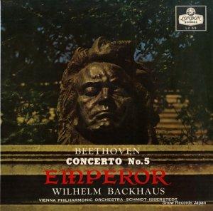 ウィルヘルム・バックハウス - ベートーヴェン:ピアノ協奏曲第5番変ホ長調作品73「皇帝」 - LC53