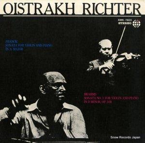 ダヴィッド・オイストラフ - フランク:ヴァイオリンとピアノのためのソナタイ長調 - SMK-7603