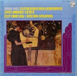 エリー・アメリング - ヴォルフ:「イタリア歌曲集」より/「メーリケ歌曲集」より - SFX-7926