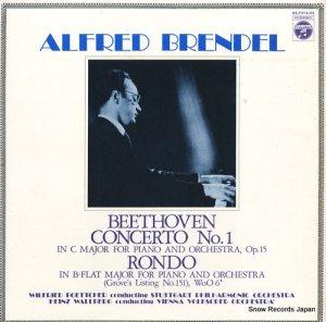 アルフレッド・ブレンデル - ベートーヴェン:ピアノ協奏曲第1番 - OC-7214-VX